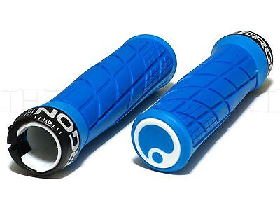 NEW Ergon GE1 Slim Ergonomic Locking Enduro/Trail Grips - AM/FR/MTB - Blue