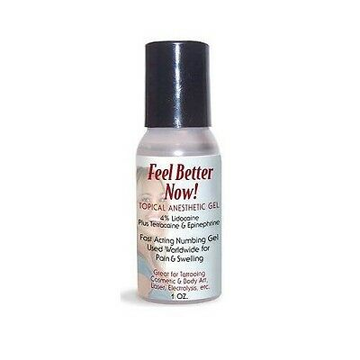 "ANESTHETIC GEL ""FEEL BETTER NOW"" 30ML. Origina Relief Pain Numbing Tattoo"