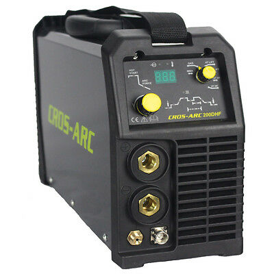 Cros-Arc 200Dc Hf Tig Welder Quality Inverter Package Gas Stick Mma