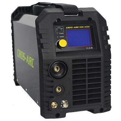Cros-Arc 200S Ad/Dc Tig Welder Quality Inverter Package Gas Stick Mma