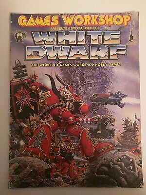 Special Issue of WHITE DWARF The World of Games Workshop Hobby Games