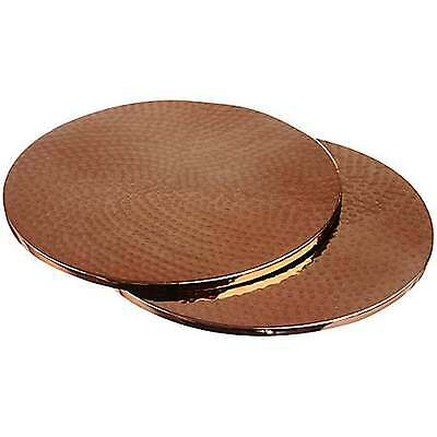 Just Slate Copper Trivets/Place Mats - Set of 2 Boxed