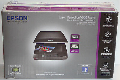 NEW Epson Perfection V550 Color Photo, Image, Film, Negative & Document Scanner