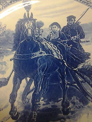 """Royal Sphinx, 15-1/2"""" Charger, Horse Drawn Sleigh With Woman & Driver"""