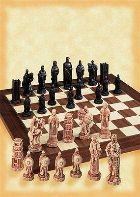 SAC A157 Antiqued Battle of Hastings Chess set - NEW - board not included
