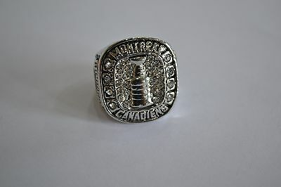 Nhl Montreal Canadians Stanley Cup Ring Richard Ice Hockey