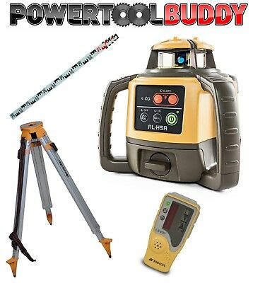 Topcon RL-H4C Laser Level+LS-80L Receiver, Nedo Tripod & Staff Next Day Delivery