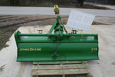 "John Deere 73"" Commercial-duty Rotary Tiller Model 673, Great Working Condition"
