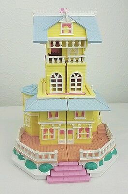 Vintage Polly Pocket 1995 Club house Bluebird toy   Excellent condition