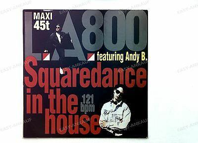 L.A. 800 - Squaredance In The House FRA Maxi 1990 //1