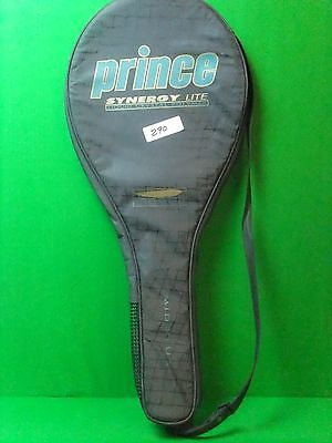 Prince Synergy Lite Mid Plus Padded Tennis Racquet Cover Free Shipping!