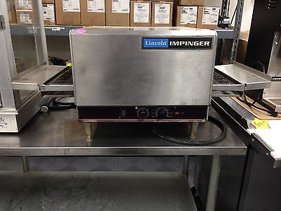 "Lincoln Impinger 1301-17 Countertop Conveyer Bake Oven 16"" Used Good Tech Tested"