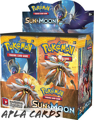 Pokemon Cards Sm-1 Sun & Moon Sealed Booster Box (36 Packs) (Pre Order 3Rd Feb)