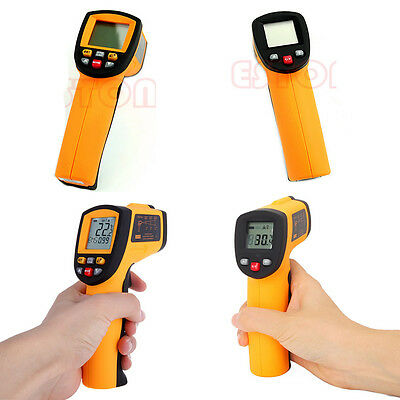 GM300/GM700/GM900 Non-Contact LCD IR Laser Digital Infrared Thermometer Gun Hot