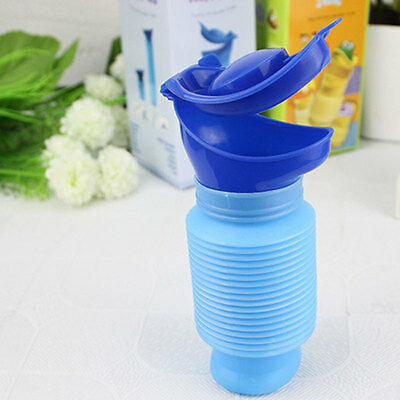 Portable Outdoor Camping Car Travel Pee Urinal Urine Toilet Potty 750ml Unisex
