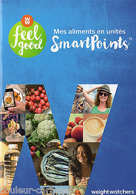 weight watchers nouveau programme feelgood smartpoint complet+4 livres SP=250 re