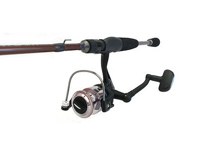 Wild Water Theta Series Spinning Rod, 6' and Spinning Reel Package