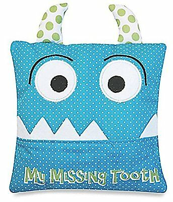 Little Boy''s Blue Tooth Fairy Pillow by Almas Designs