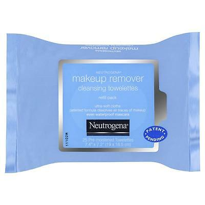 NEUTROGENA Make-up Remover Cleansing Wipes - 25 removing even waterproof mascara
