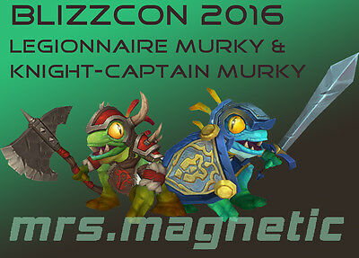 WoW Loot - Blizzcon Virtual Ticket 2016 Digital In-Game Goodies - 2 Murky Pets