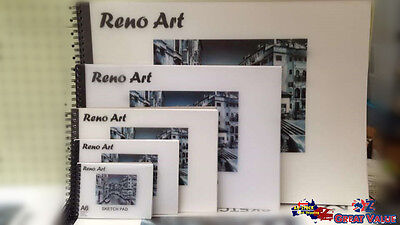 Reno Art Sketch Pad 140gsm ACID FREE Sketch Drawings SPAD