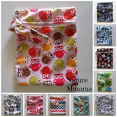 New Medium Wet Bag - Cloth Pads, Mamma Cloth, Toddler, Baby, Cosmetics
