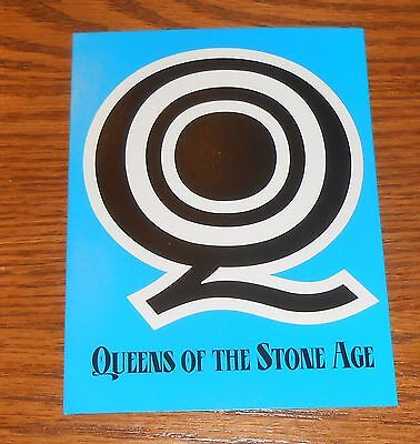 Queens of the Stone Age Sticker Decal Original Promo 4x5.25