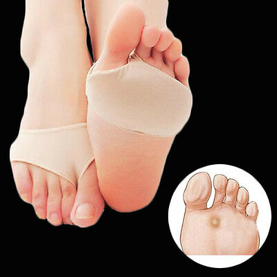 1 Pair Gel Forefoot Ball of Foot Metatarsal Absorber Cushion Pad Sore insole