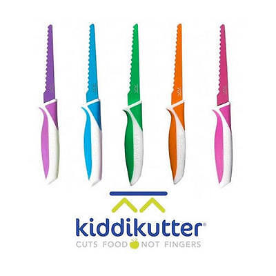 KiddiKutter Kids Safety Food Knife - Kiddie Kutter Safe Cutlery Kiddy Cutter