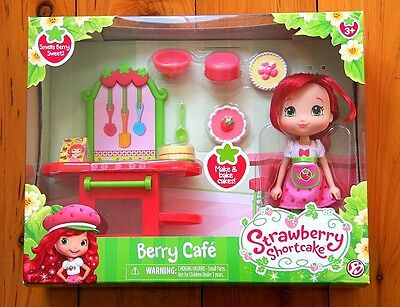 Strawberry Shortcake Berry Cafe Scented Doll NEW - LAST ONE LEFT!
