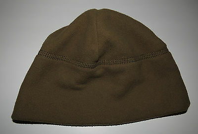 Usmc Marine Corps Military Polartec Fleece Watch Cap Hat Beanie Coyote Brown