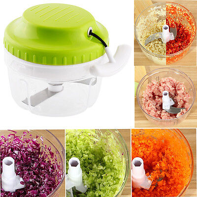 Hot New Useful Manual Food Meat Salad Crusher Chops Vegetables Grinder Mixer