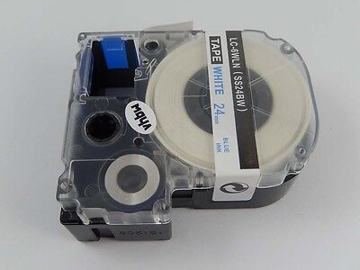 24mm Ribbon Cassette B/W for Epson LabelWorks LW-600P,LW-900P