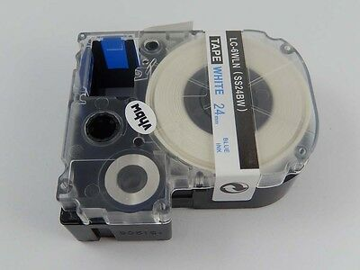 24mm Ribbon Cassette B/W for Epson LabelWorks LW-600P,LW-1000P