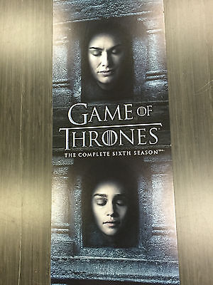 Game of Thrones - Sixth Season 6 - Poster Sign - Limited Edition - Authentic HBO