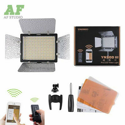 Yongnuo YN-300 III  3200K-5500K LED Video Light for Canon Nikon Olympus Pentax