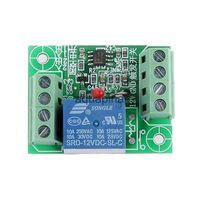 DC 12V 1CH Electronic On/Off Bistable Trigger Relay Module