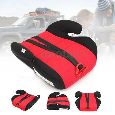 Baby Kids Child Car Booster Seat Heightening Pad With Safety Belt For 22-36kg
