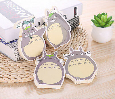 Totoro Sticker Post-It Bookmark Marker Memo Flags Index Tab Sticky Note