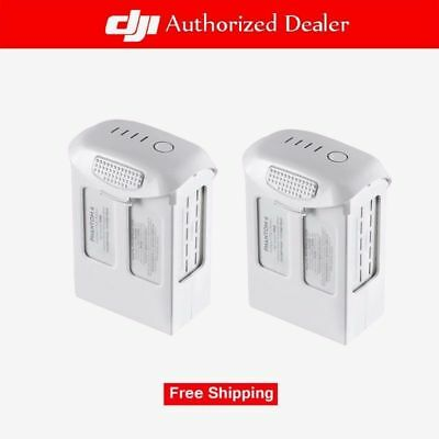 DJI Phantom 4 Pro Intelligent Flight Battery 5870mAh High Capacity (2 Pieces)