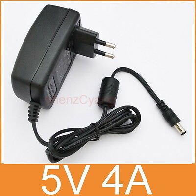 AC supply DC 5V 4A Switching Power Adapter Charger 20W EU plug DC 5.5mm 4000mA