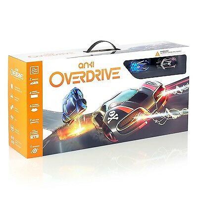 Anki OVERDRIVE Starter Kit Drive the Future Robotic AI Supercars New Sealed