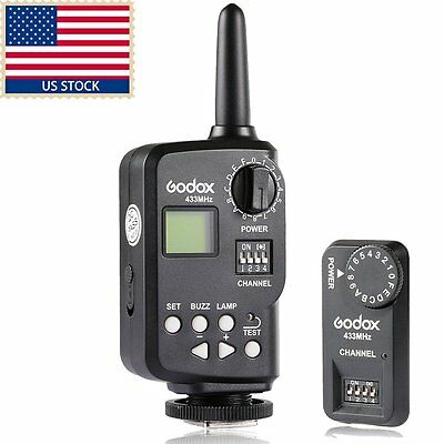 US Godox FT-16S Trigger For V860C/N V850 Speedlite Wireless Power Controller