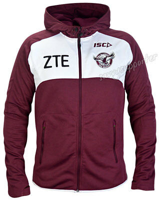 Manly Sea Eagles 2017 NRL Workout Hoody Jacket 'Select Size' S-5XL BNWT