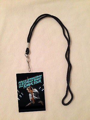 Bruce Springsteen 2016 The River Tour Vip All Access Backstage Pass Meet & Greet