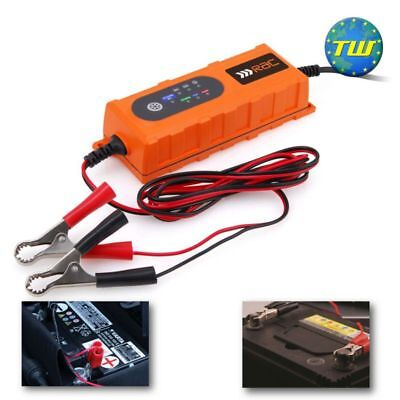 RAC 4 Amp Smart Battery Charger for 6 Volt & 12V Car & Bike Batteries RAC-HP239