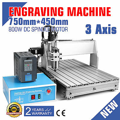6040 Cnc Router Engraver Engraving Machine 3 Axis Pcb's Milling Woodworking