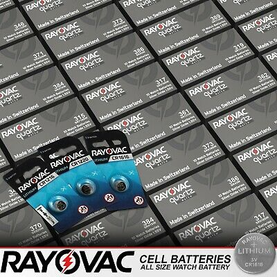 Rayovac Cell Batteries All Size Watch Battery Kitchen Scales Car Coin Batteries