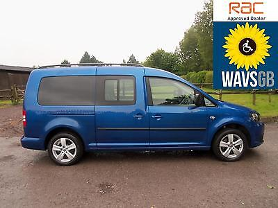 Volkswagen Caddy 16TDI Maxi Life Mobility Wheelchair Access Vehicle Disabled WAv