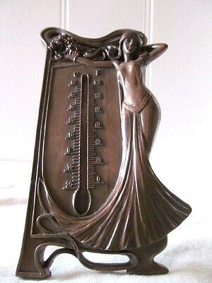 Lovely Art Nouveau Thermometer Stand